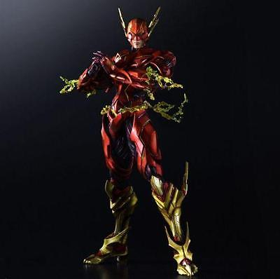 NEW Play Arts Kai Justice League The Flash PVC Action Figure Collectible Toy Collectibles Model Doll 203  the flash funko pop the flash pvc action figure collectible model toy christmas gift