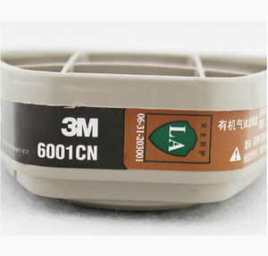 Image 5 - 2/4/8/16 PCS Painting Spray  Gas Mask Replace Fitting 3M 6001cn organic vapor cartridge For 3M 6000 7000 Series Respirator Mask