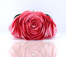 The new package petal flower bag evening bag bride package bridesmaid package