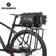 ROCKBROS велосипедная сумка, сумка для багажника, нейлоновая велосипедная MTB уличная стойка, задний багажник, сумка-тоут, корзина, Аксессуары для велосипеда