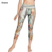 L'europe Nouvelle Legging court Séchage Rapide Capris Pour Femmes 3D Numérique Impression Cultures Leggings Fitness Leggins Danse Pantalon CJO-234