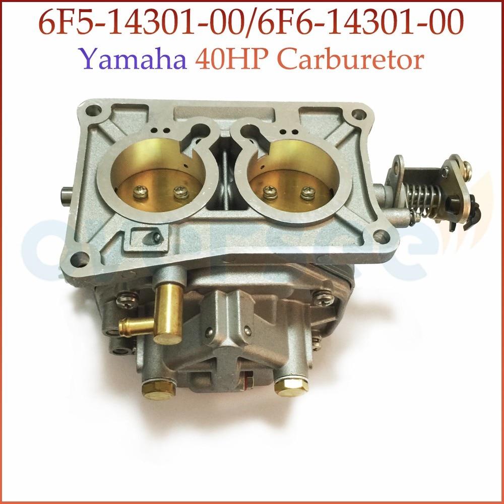 67D-14301-13 карбюратор для YAMAHA 4HP 4-тактный подвесной лодочный мотор 5HP 68D-14301-13 67D-14301