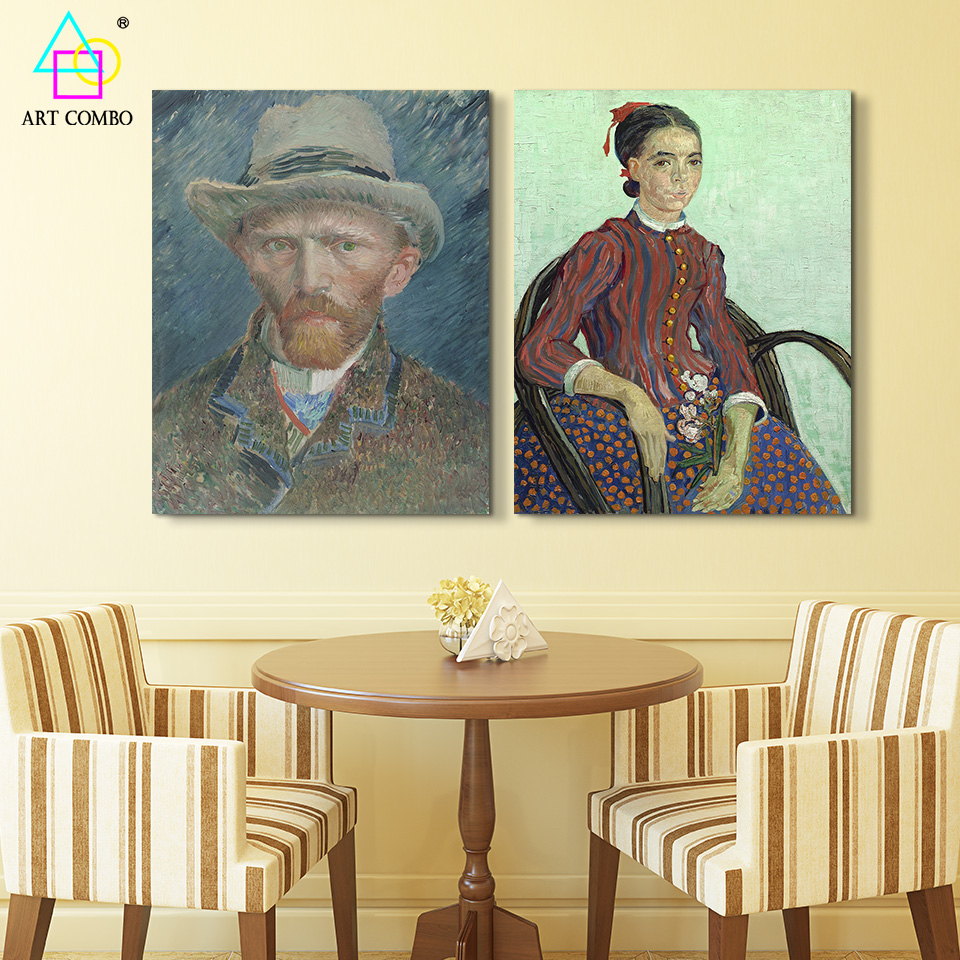 Famous Oil Paintings By Figures Beautiful Girl Man Wall Art Canvas ...