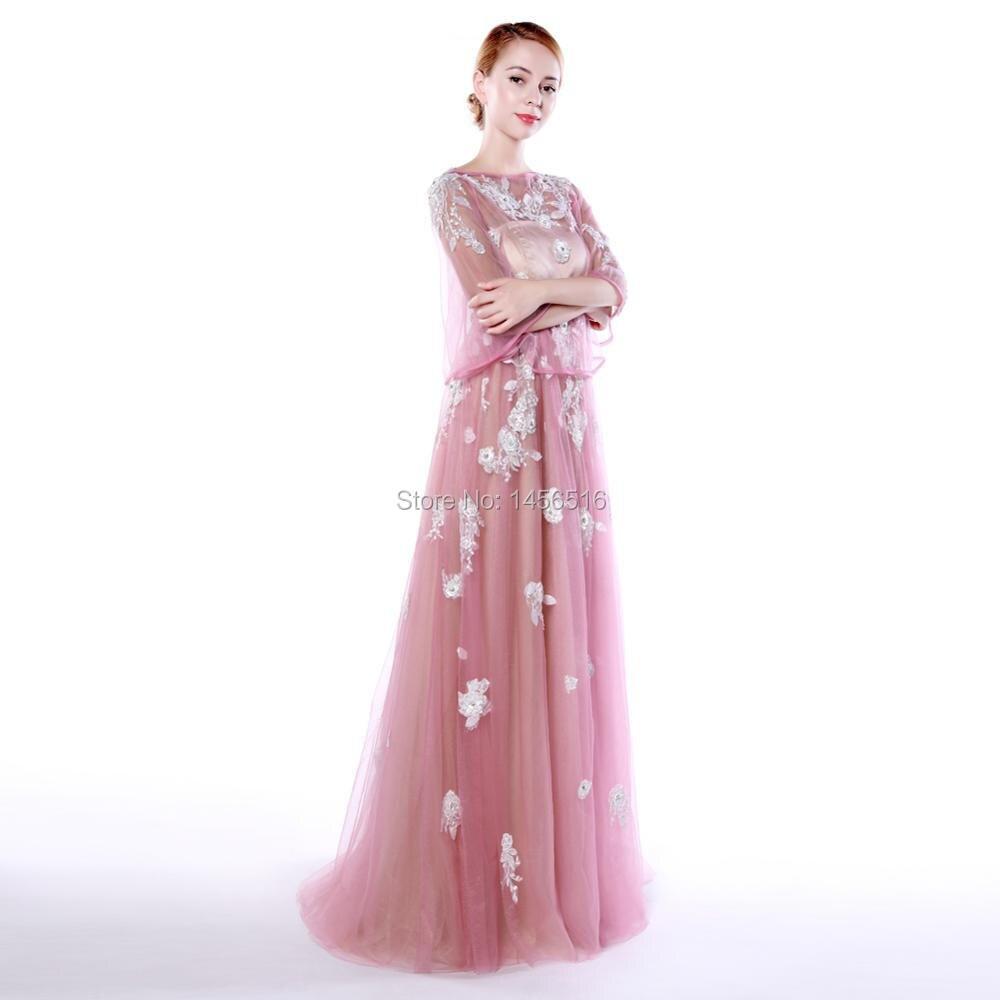Menoqo 2 en 1 robes de soirée de maternité robes formelles longues femmes enceintes robes de soirée avec veste châle - 4