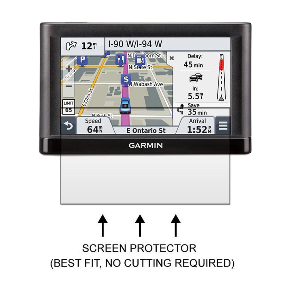 Garmin Nuvi 55 55LM 55LMT GPS üçün 3x Parlaq LCD Ekran Qoruyucu - Cib telefonu aksesuarları və hissələri - Fotoqrafiya 2