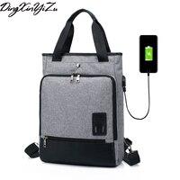 New Design USB Charging Men S Backpacks Male Business Travel Women Teenagers Student School Bags Simple