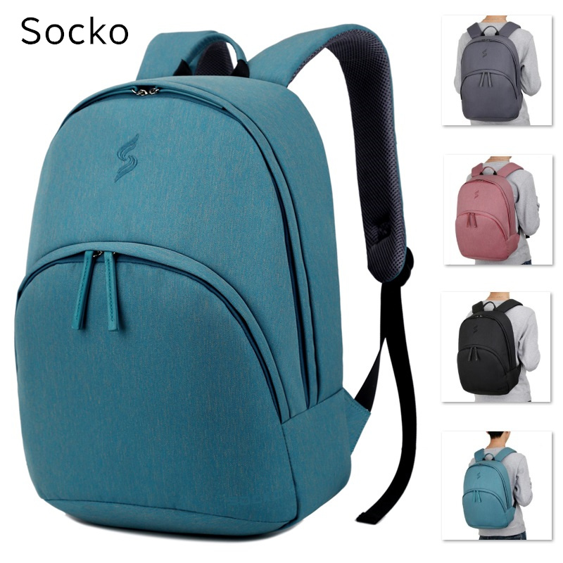 New Socko Brand Backpack For Laptop 14,14.6,15,15.6 Notebook Bag,Packsack,Travel, Shoulder School Bag,Free Drop Shipping 675