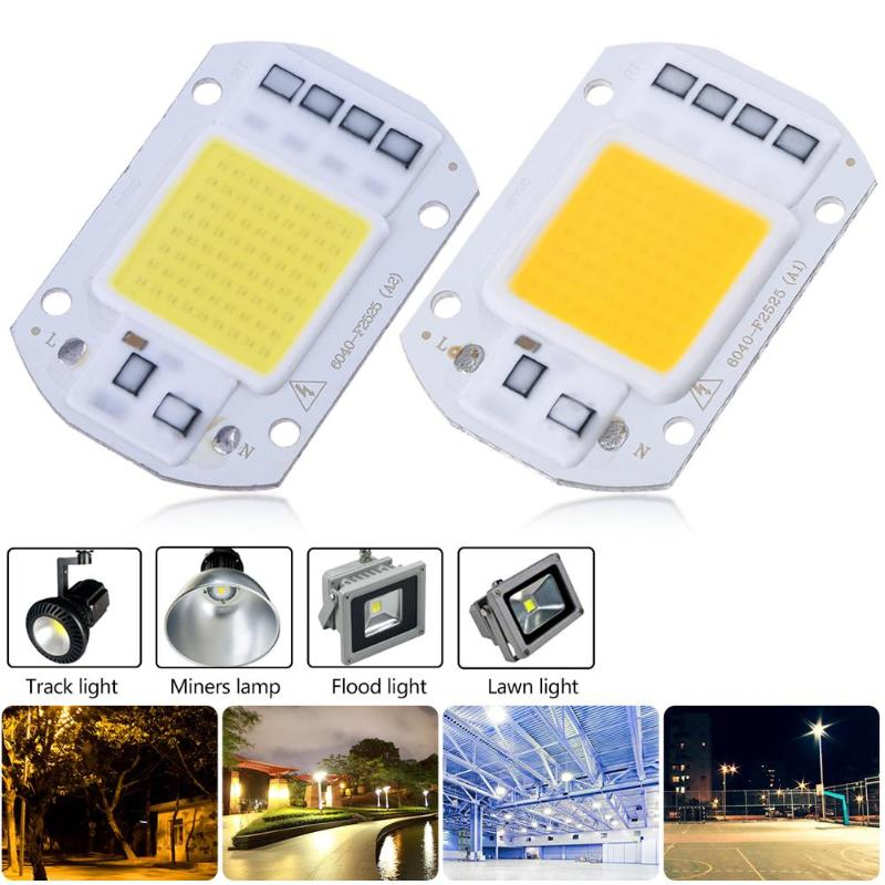 High Power 20/30/50W AC 220V/110V COB <font><b>LED</b></font> Lamp DIY Flood Light SMD Diode Chip Outdoor Chip Lamp for Spotlight Searchlight image