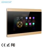 """HOMSECUR BM715HD G 7 """"TFT LCD Tür Telefon Monitor Touchscreen 1024 × 600 + Power Adapter für HDK Serie video Tür Sprechanlage-in Innen-Monitor aus Sicherheit und Schutz bei"""
