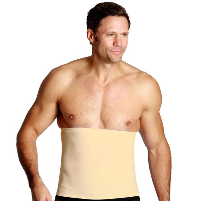 Men's Waist Control Belt Slimming Shapewear Men Body Shapers Abdomen Fat Burning Control Weight Loss Waist Sweat Tummy Corset 3