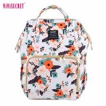 Bolsa para pañales de moda, mochila de gran capacidad para bebé, bolsa de pañales para el cuidado del bebé, mochila de viaje de maternidad, alta calidad