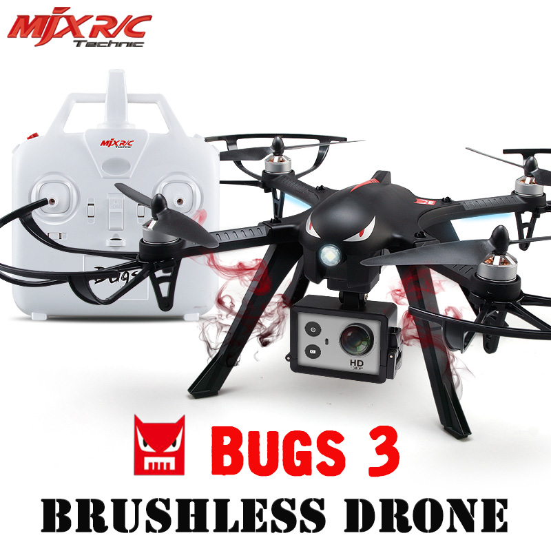 MJX RC Bugs 3 Mini 2.4Ghz 4 Chanels WIFI FPV With HD Camera Drones Quadcopters Helicopters 3D Flips & Rolls Remote Control Toys wifi drones with camera jjrc h12w quadcopters rc dron wifi flying camera helicopter remote control hexacopter toys copters