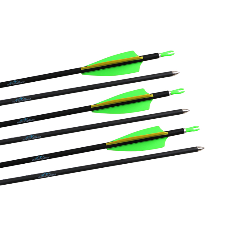 12 pieces od 7mm 31 inch spine 900 mixed carbon archery arrow bow and arrow shooting ...