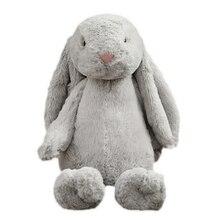 28 см милый кролик плюшевая игрушка кукла Спящая игрушка ткань подушка на день рождения ребенка подарок на день рождения FG1139