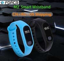 M2 Pulseira Inteligente OLED Atividade Rastreador com Heart Rate Monitor de Fitness Sono Pedômetro Step Counter Chamada Lembrete Mensagem Relógio