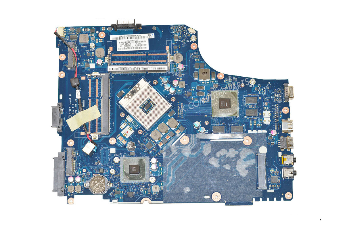 HOLYTIME laptop motherboard For font b acer b font 7750 7750G HM65 P7YE0 LA 6911P REV