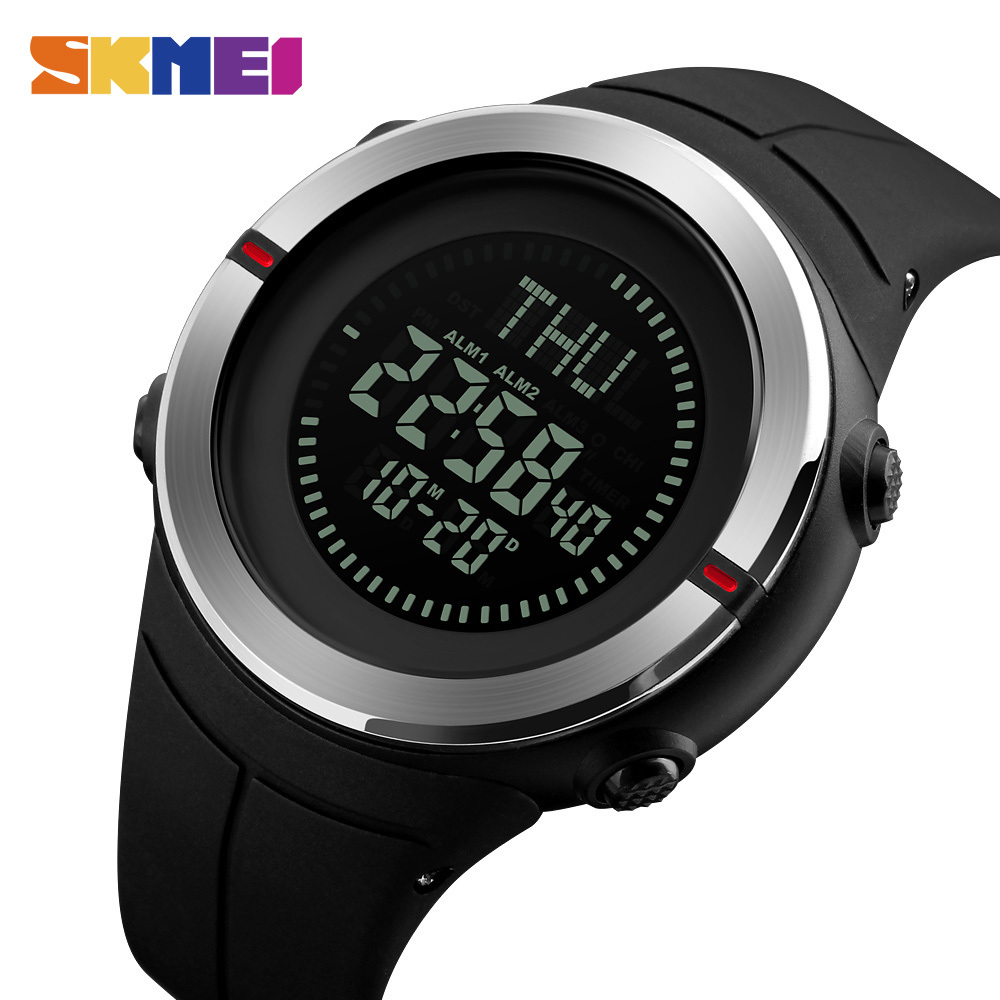 Sweet-Tempered New Men Watches Countdown Double Time Sports Wristwatch Alarm Clock Waterproof Digital Watches Relogio Smart Clock Watches