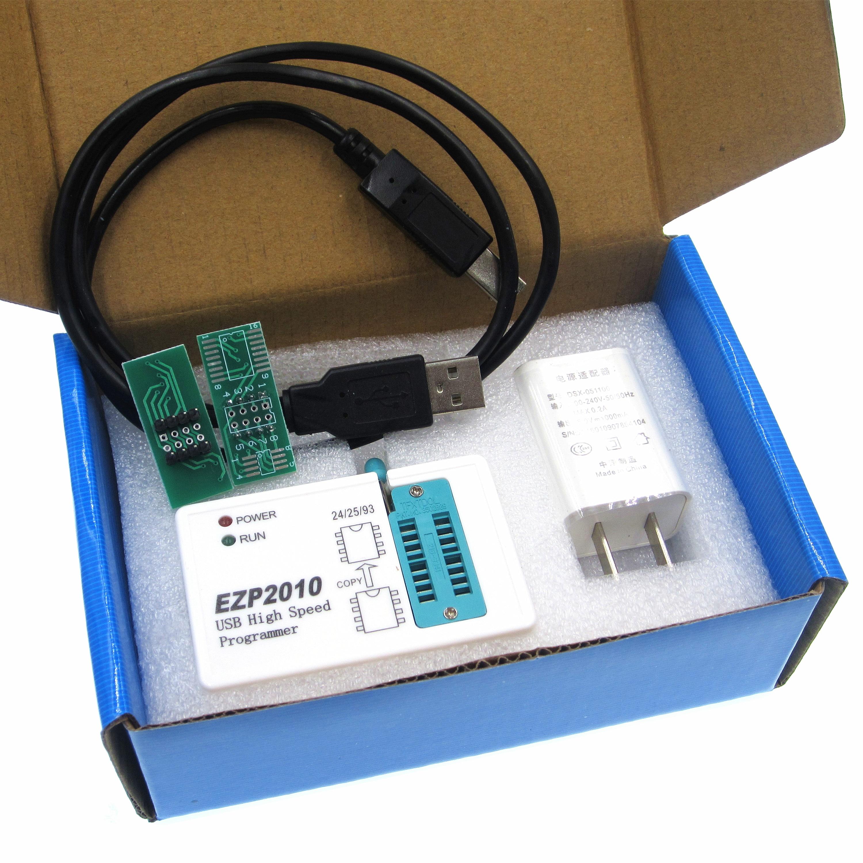 Ezp2010 alta velocidade usb spi programador support24 25 93 eeprom 25 flash bios chip