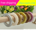20pcs Low Noise Curtain Rod Ring Eyelet Ring For Drapery Inner dia 42mm 5 Colors