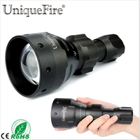 UniqueFire Hunting Flashlight UF 1504 67 Convex Lens Zoom 940nm IR LED For Rifle Hunting For 1*18650/26650 Rechargeable Battery