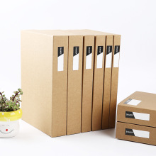 Коробка для хранения es& Bins A4 бумажная коробка для хранения офисных канцелярских принадлежностей Органайзер для файлов коробка для хранения 3 шт./лот