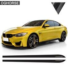 цена на M Performance Side Stripe Skirt Sticker Decal for BMW F30 F31 X5 F15 X6 F16 E60 F32 F34 F22 E90 F10 F11 F01 F02 G30 Z4 E89 F20