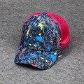 New Hot Baseball Caps Summer Mesh Cap Women Fashion Letters Print Denim Hats Ladies Graffiti Sun Hat Street Casual Cowboy Hat