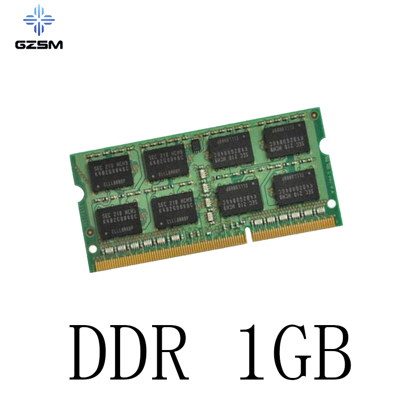 GZSM Laptop Memory <font><b>DDR</b></font> <font><b>1GB</b></font> Memory Cards <font><b>266MHZ</b></font> 330MHZ 400MHZ Memory RAM 200pins for <font><b>PC2100</b></font> PC3200 PC2700 image