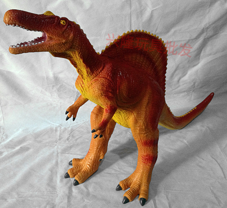 63CM Large Size PVC Carnivorous Spinosaurus Dinosaur Savage Dinosaur Classic Model Action Figure Toys for Kids dinosaur action