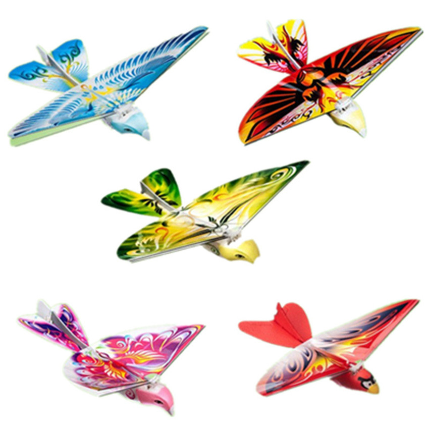 1PC RC Bird Toy Mini RC Drone Toys Remote Control Flying Toy Simulation Bird With LED Lights Sound Remote Control Flying Bird цена