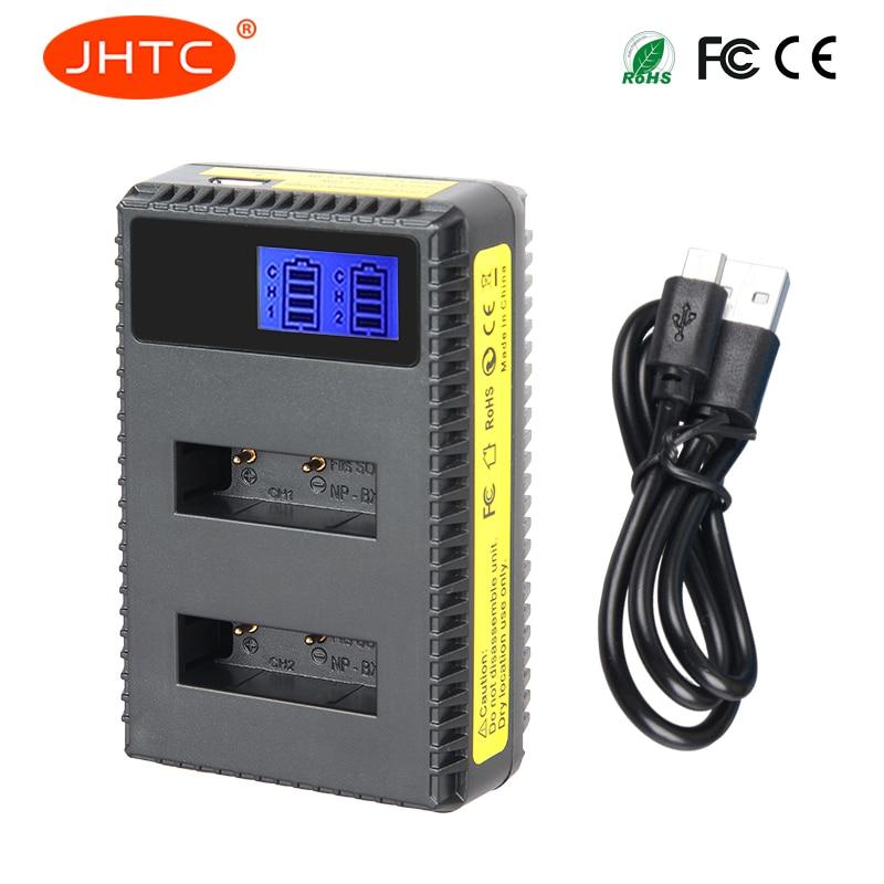 JHTC 1 Pc NP-BX1 NPBX1 Pour SONY DSC-RX100 RX1 HDR-AS15 AS10 HX300 WX300 NPBX1 NP BX1 BC-CSXB Caméra Batterie NP-BX1