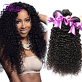4 Pcs Malaysian Curly Hair Bundles Unprocessed Malaysian Virgin Hair Curly Weave Human Hair Extensions Kinky Curly Virgin Hair