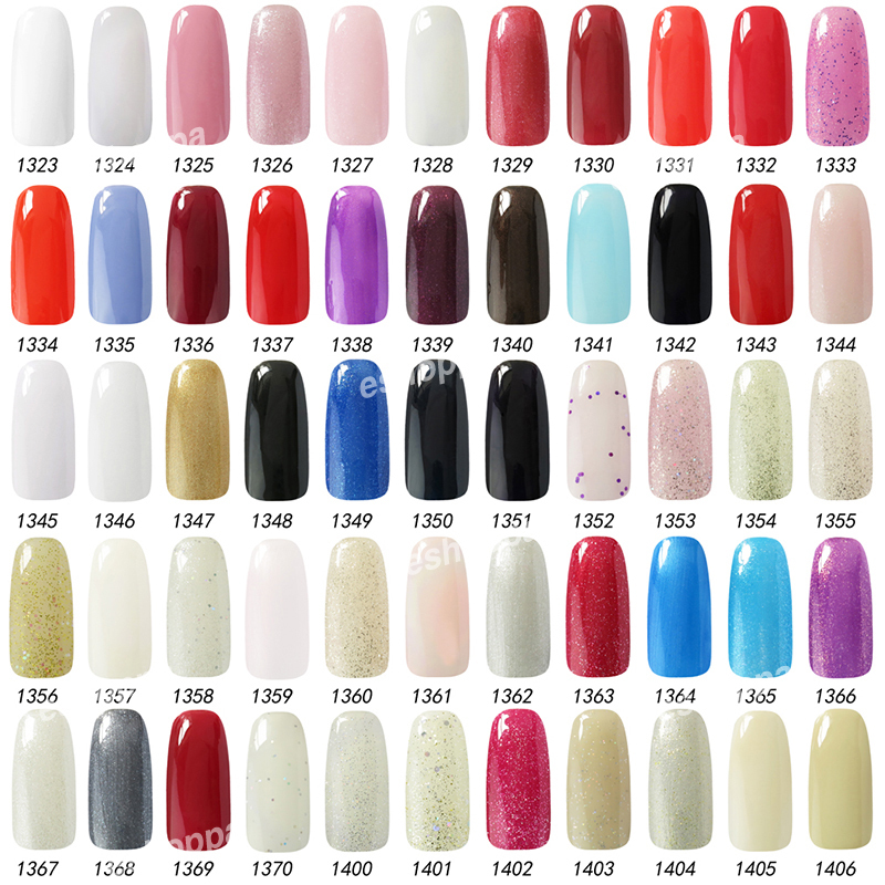 199 Colors Nail Polish Gel 15ml IDO 1347 Nail Lacquer Top Gel Color ...