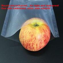 12cm x 20cm 25PCS PE Vacuum Food Saving Storage Bags Sealing Sealer Packaging Film coffee bean bag Keeps Fresh up to 6x Longer