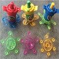 3 шт. Классические Игрушки пластиковые beyblades строка launcher волчки Тянуть ручки гироскопа детские лучшие игрушки