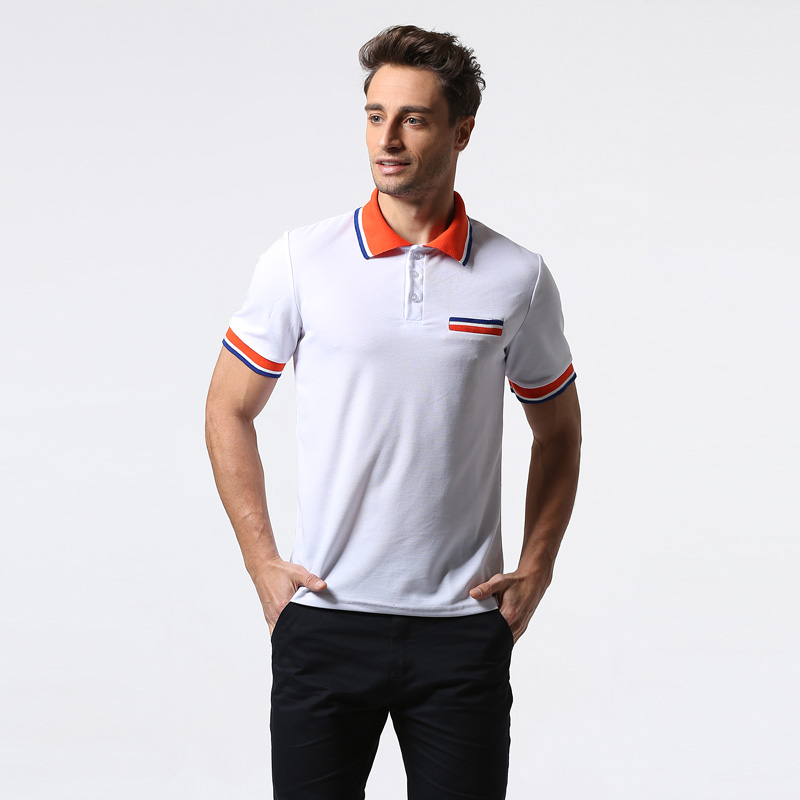 Polo   Shirt Men 2017 Summer New Short Sleeve Cotton   Polo   Shirt Homme Casual Breathable Slim Fit Camisa   Polo   Pocket White   Polos