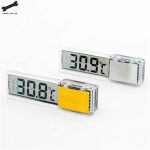 Image 2 - Aquarium thermometer Digital LCD electronic fish tank 3D Digital temperature gauge sticker shrimp fish turtle G3615