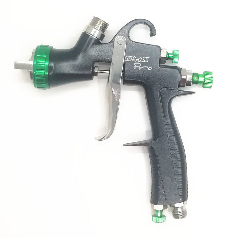 LVLP GMS PRO Spray Gun R500 Car Finish Painting 1 3 1 4mm Nozzle 600cc W
