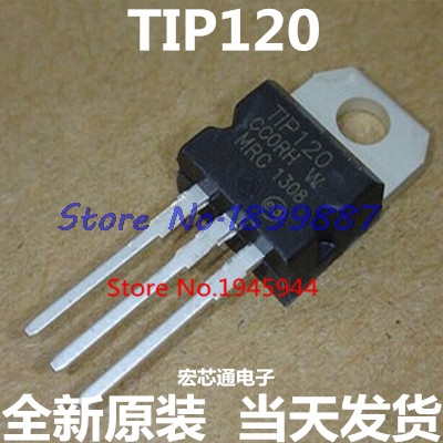 10pcs/lot TIP120 120 TIP TO-220 NPN 120 Original In Stock