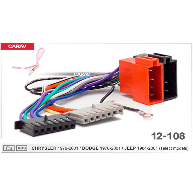 US $4.99 |CARAV 12 108 ISO Radio Adapter for CHRYSLER for DODGE for on jeep radio fuse, jeep cherokee wiring harness, 2005 jeep wiring harness, jeep wrangler wiring harness, jeep sound bar wiring harness, jeep commando wiring harness, jeep stereo harness, jeep commander wiring harness, jeep electrical harness, jeep compass wiring harness, jeep engine harness, jeep patriot wiring harness, jeep liberty wiring harness, jeep tow bar wiring harness, jeep fuse box diagram, jeep wiring diagram, jeep transmission harness, jeep trailer wiring harness, jeep mpg, jeep transmission cooler lines,