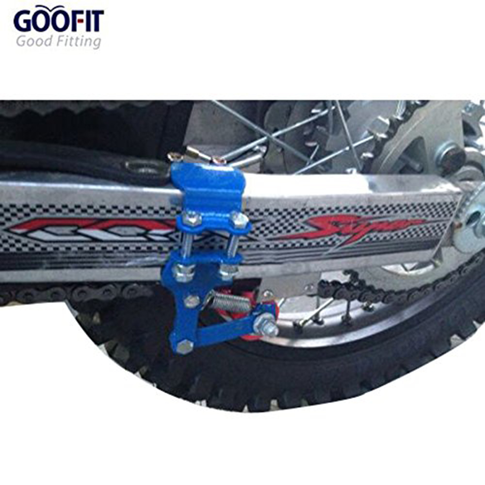 GOOFIT Motorcycle Link Length Modified Chain Tensioner Adjuster G044 051 G044 050 in Sprockets from Automobiles Motorcycles