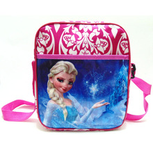 IVI Cute kindergarden elsa and anna cute cartoon bags Snow Queen doll bag Snow Queen school bag for Christmas gift
