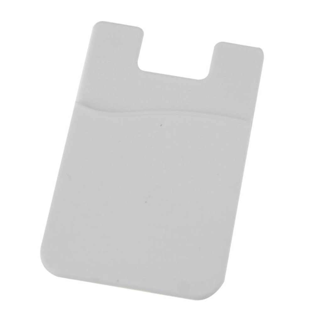 Клейкая наклейка задняя крышка держатель Чехол сумка для сотового телефона мягкий удобный телефон держатель кредитной карты