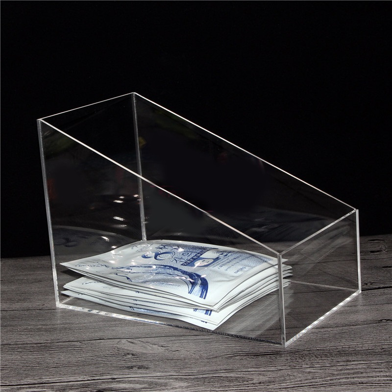 Acrylic Jewelry Display Cosmetic Storage Boxes Makeup Organizer Tray clear acrylic jewelry cosmetic storage display box necklace bracelets gift boxes