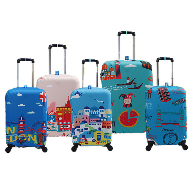 Waterproof Elastic Luggage Cover