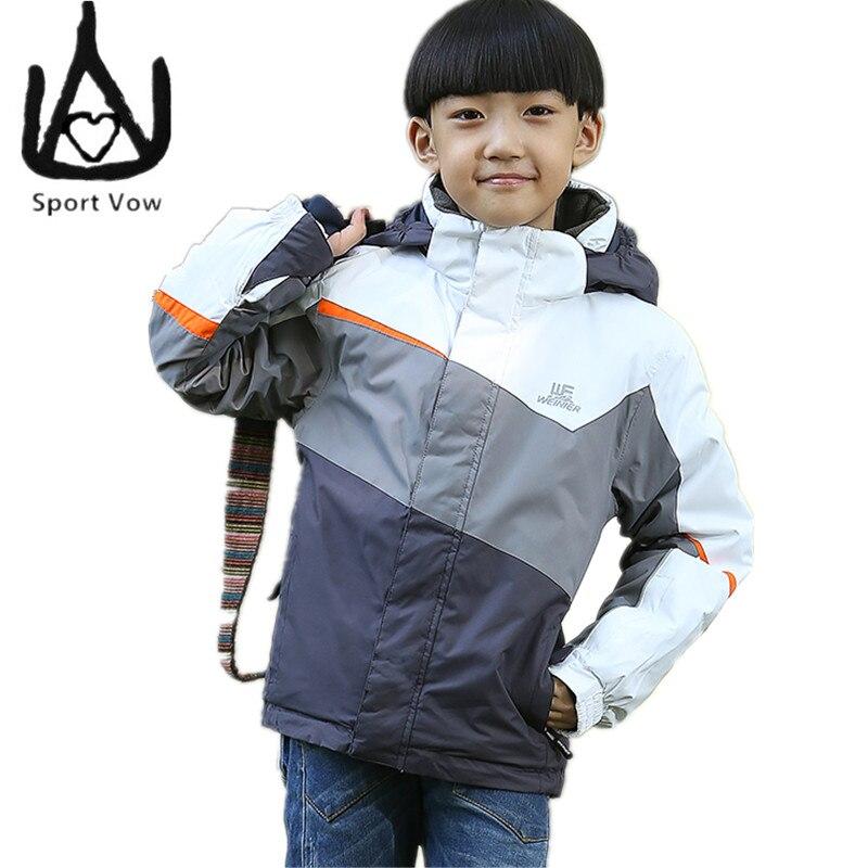 2016 Children Snow Jacket Windstopper Skiing Winter Coat ...