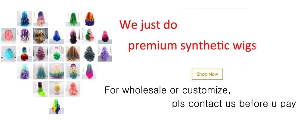 Cheap Peruca sintética