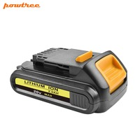 20V 2000mAh DCB200 Li ion Rechargeable Power Tool Battery For DEWALT DCB203 DCB181 DCB180 DCB200 DCB201 DCD996 DCB201 2 L10