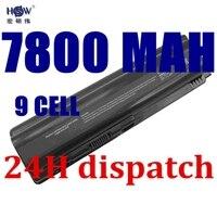 7800mah New 9Cell Laptop Battery For HP Pavilion DV4 DV5 DV6 Battery HSTNN IB72 HSTNN