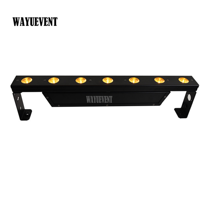 7X5W LED Pixel beam bar KTV Club Party wash lighting 5CH 7CH leds stage light